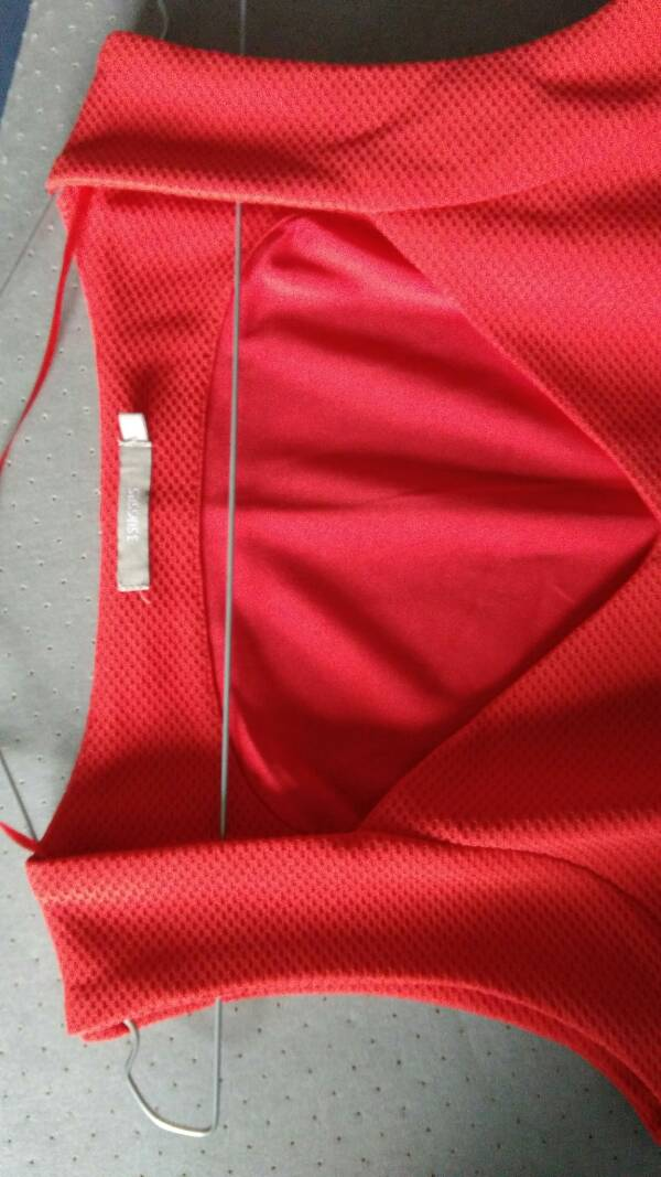 Robe rouge t38