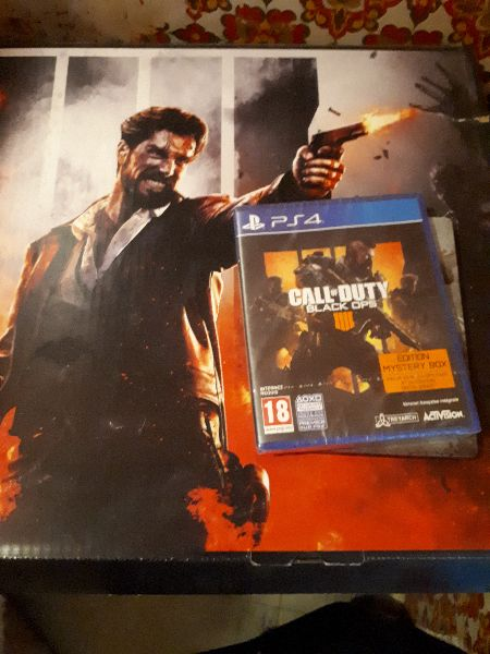 Coffret Call of Duty + jeux PS4