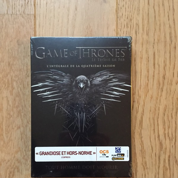 DVD saison 4 - Game of Thrones