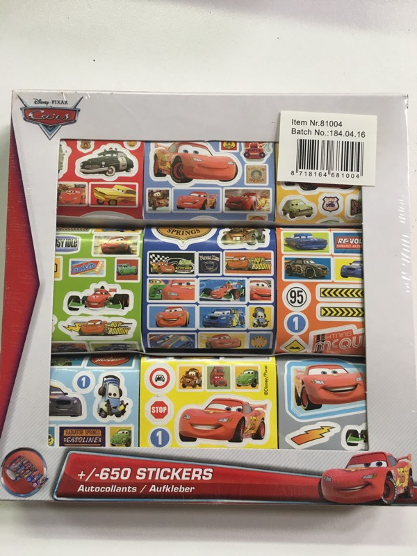 650 stickers CARS